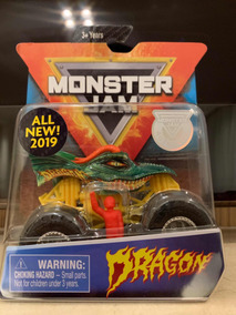 Monster Jam 2019 Dragon Escala 1/64 - Versão Americana.
