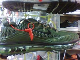Tenis Nike Air Max 2018 Verde E Preto Nº38 Ao 43 Original