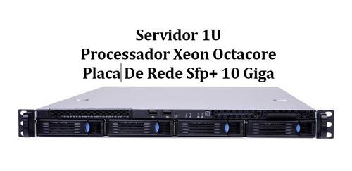 Servidor Rack 1u 02 Xeon E5 2650 Octacore 32 Gb / Sem Hd