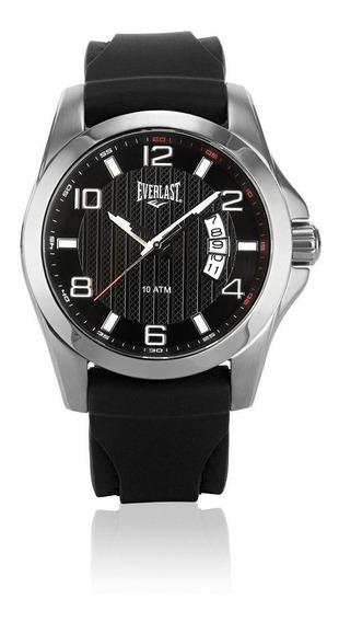 Relógio Pulso Everlast Masculino Resistente Aço E168