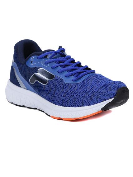 Tênis Esportivo Masculino Fila Volt Azul/laranja 38