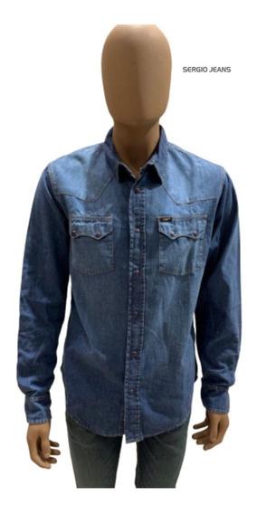 Camisa De Jean Lee Hombre Original Ultimas Originales