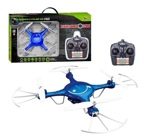 Drone-quadricóptero Controle Remoto 4 Canais C/ Câmera