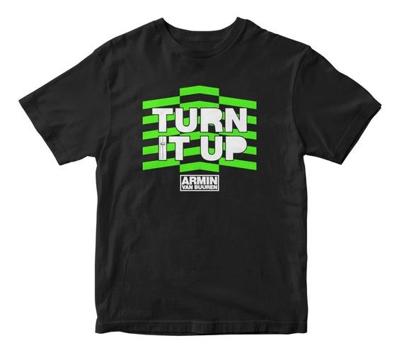 Playera Turn It Up Armin Van Buuren Electronic Music 278