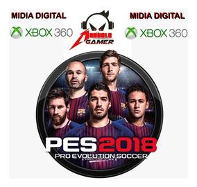 Pes 2018 Xbox 360 Midia Digiital