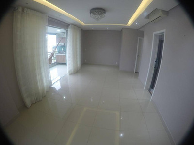 Apartamento Com 3 Dormitórios Para Alugar, 123 M² Por R$ 4.200/mês - Ponta Negra - Manaus/am - Ap0474