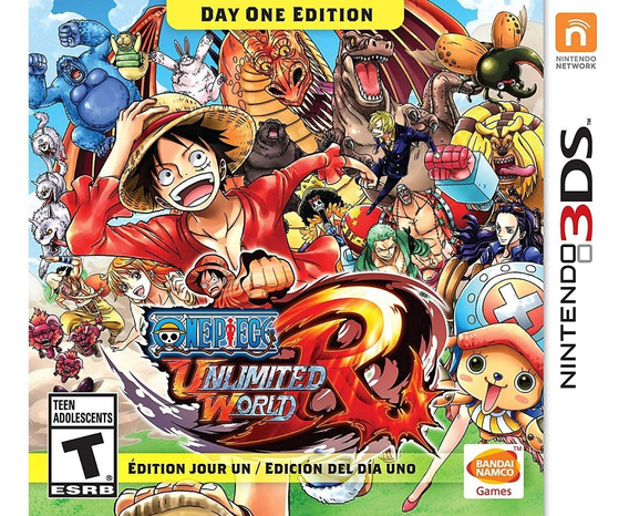 3ds - One Piece Unlimited World Red