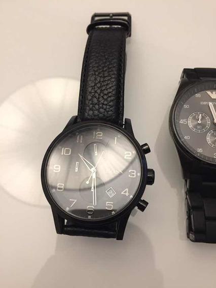 Relógio Pulseira Preta