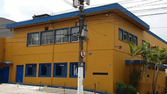 Galpão Para Locação Em Santo André, Campestre - Lg044_2-954809