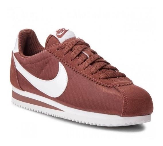 Zapatillas Nike Classic Cortez Nylon Urbana Damas 749864-203