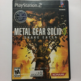 Jogo Metal Gear Solid 3 Snake Eater Original