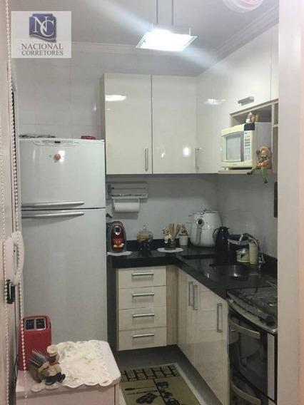 Apartamento Com 2 Dormitórios À Venda, 40 M² Por R$ 220.000 - Parque Oratório - Santo André/sp - Ap8466