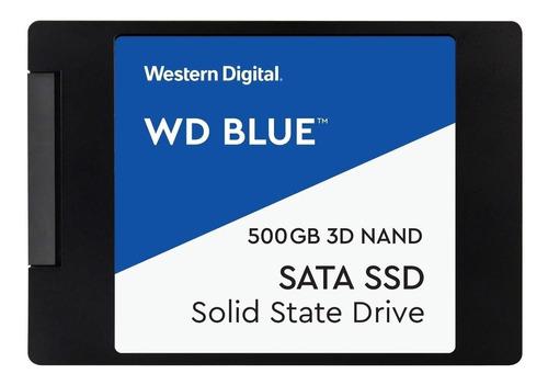 Disco sólido interno Western Digital  WDS500G2B0A 500GB azul
