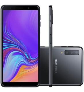 Samsung Galaxy A7 A750f 64gb Dual 24mp Preto Vitrine 1