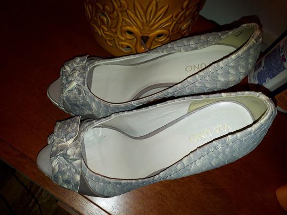 Zapatos Via Uno Talle 40!! Nuevos!
