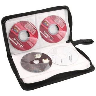 Estuche Porta Cd Para 80 Cd Dvd