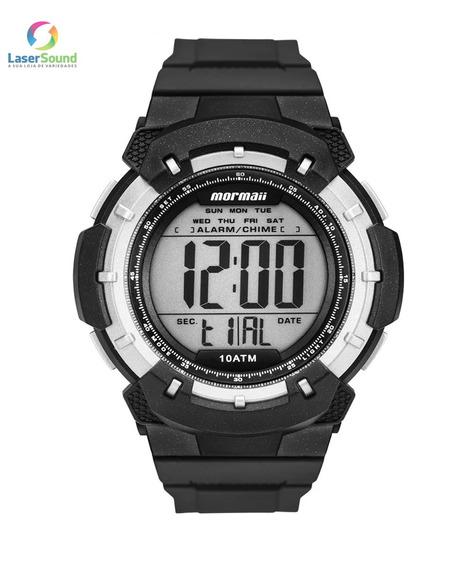 Relógio Mormaii Masculino Mo3571/8p, C/ Garantia E Nf