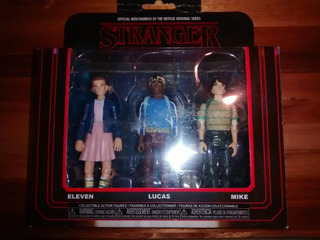 Stranger Things - Funko - Eleven - Lucas - Mike - Set Pack!!