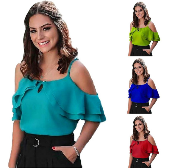 Blusas Damas Casuales Mariana By Plutonio