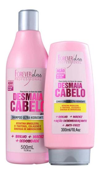 Kit Forever Liss Pro Desmaia Cabelo Duo (2 Produtos) Blz