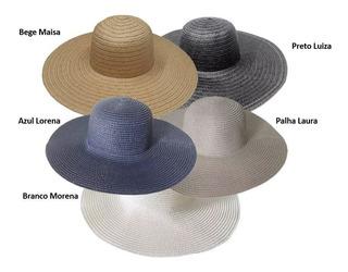 Combo 10 Chapéus De Praia Para Customização