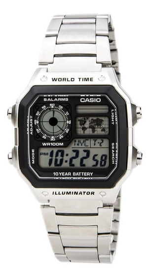 Casio Ae1200whd-1a Reloj Caballero, Digital, Por Kronocity