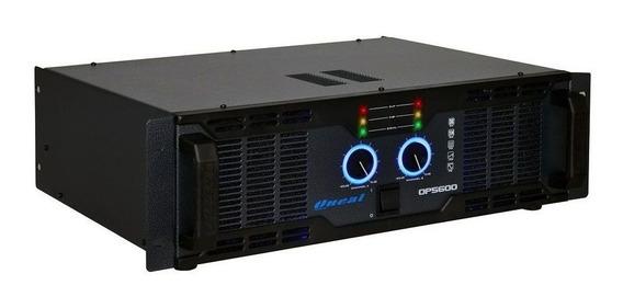 Amplificador Oneal Op5600 Potencia 1000w Rms 2 Canais