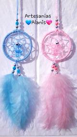 Mini Atrapasueños Con Chupete X 10 Souvenirs Personalizados