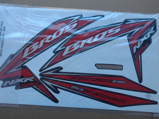 Vendo Adesivo Para Moto Nxr Bros 150 E 125 _2010
