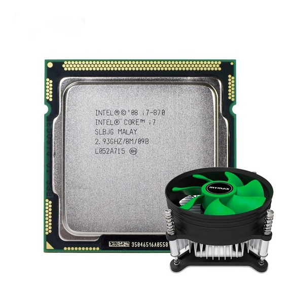 Kit Processador Intel Core I7-870 2,93ghz Lga1156 + Cooler