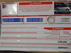 Kit Friso Lateral Cruze Branco Cod.98550893 Original Gm