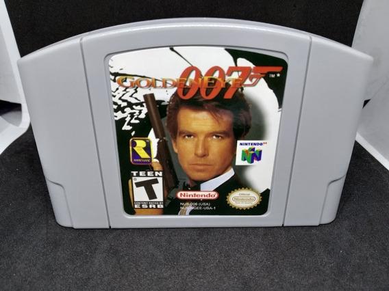 Fita / Cartucho 007 Goldeneye Nintendo 64 N64 Salvando