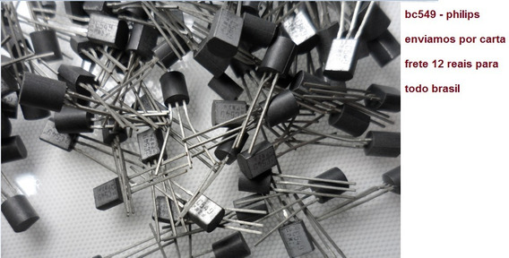 Transistor / Bc549 - Fabricante Philips - 10 Unidades