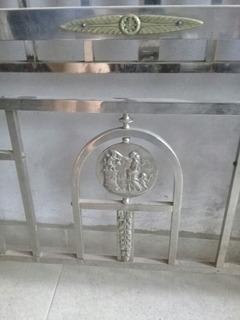 Antigua Cama Bronce
