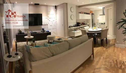 Imagem 1 de 14 de Apartamento Com 3 Dormitórios À Venda, 97 M² Por R$ 1.050.000,00 - Santa Paula - São Caetano Do Sul/sp - Ap3457