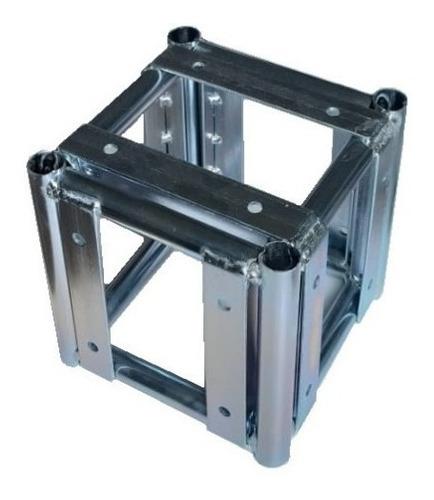 Imagem 1 de 4 de Cubo 5 Faces Treliças Box Truss Q20 Aço  - Lourenço