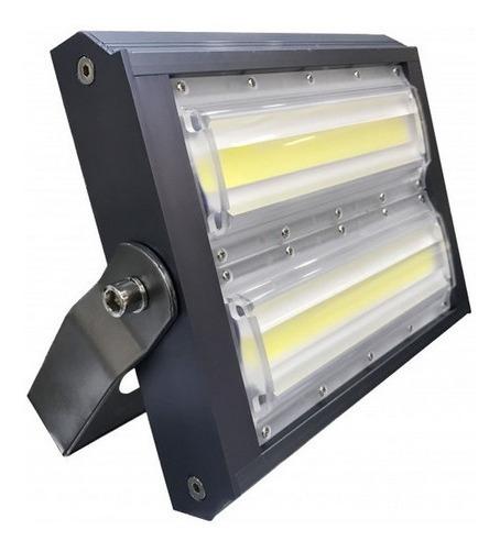 Refletor Led Holofote 100w Ip65 Resistente Água Branco Frio