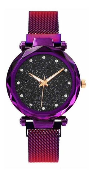 Relógio Feminino Céu Estrelado Promoção