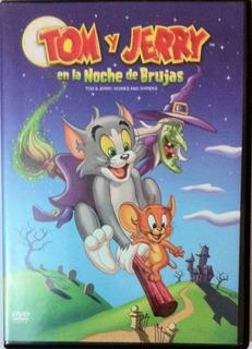 Tom Y Jerry En La Noche De Brujas. Dvd Original, Como Nuevo