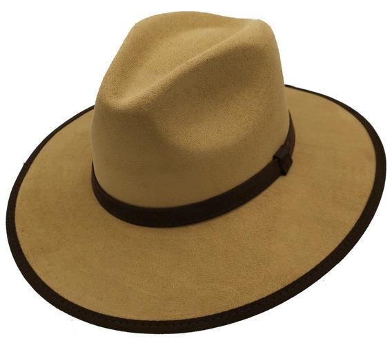 Sombrero Unisex Explorer Hipster Indiana Gamuza Variedad