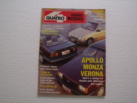 Quatro Rodas Nº 360 - Julho De 1990 - Revista