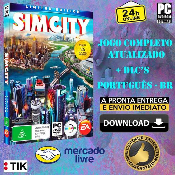 Simcity 5 Deluxe Edition - Completo - 2 Jogos Por 1