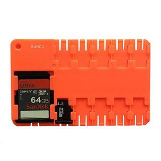 Bandc Red Micro Sd / Sdhc / Sdxc Carcasa De Almacenamiento D