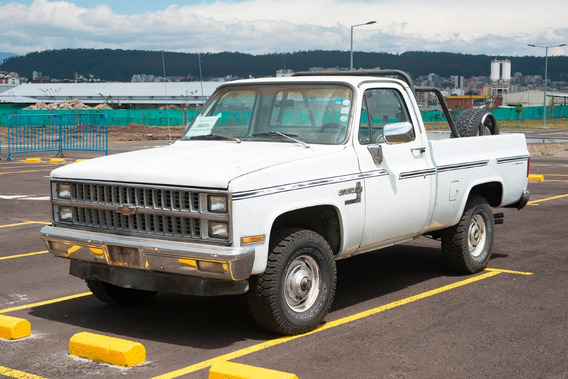 Camioneta Chevrolet C-10,año 1981, Para Carga O Remodelación
