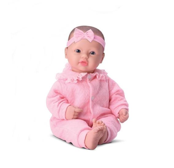 Boneca Bebês Coleção C/ Som Balbucia Bebê - Divertoys