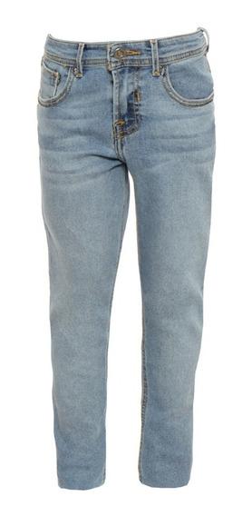 Jeans Corte Skinny De Niños C&a Stretch Básicos
