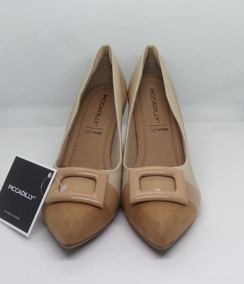 Zapatos Mujer Taco Ancho Picadilly Art 746015 Zona Zapatos