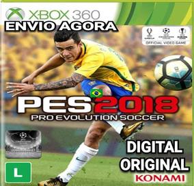 Pes 2018 Português Completo Midia Digital Xbox 360