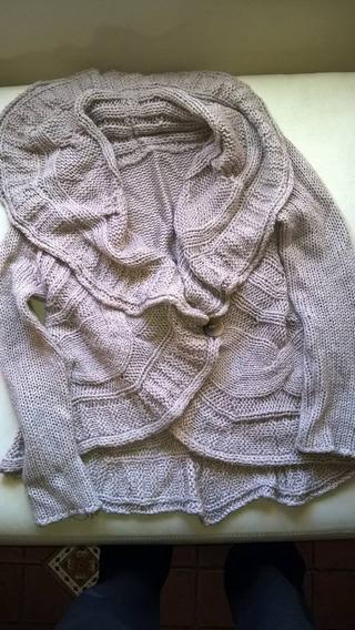 Sweater Estilo Tapadito De Lana