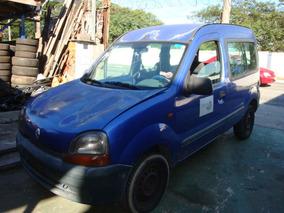 Sucata De Renault Kangoo 1.0 2000 Pra Retirada De Peças